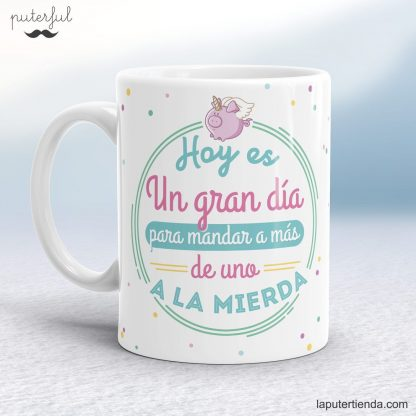 Taza original Puterful
