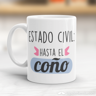 Taza estado civil