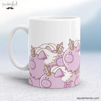 Taza original Cerdicornio