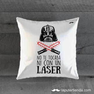 Cojín no te tocaba ni con un laser