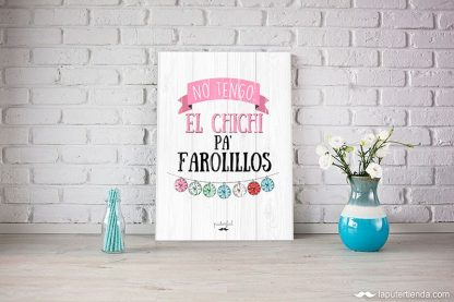 Tabla farolillos puterful