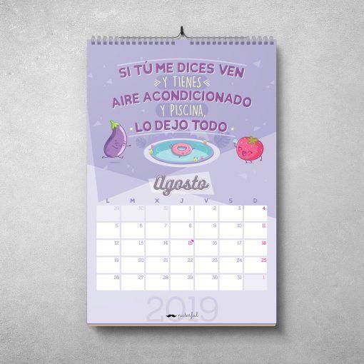 Calendario Puterful Agosto