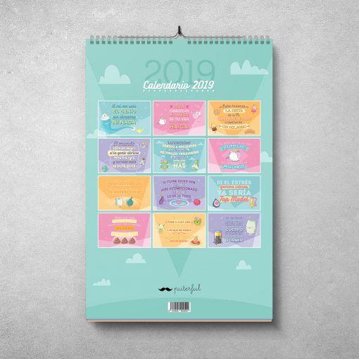 Contraportada Calendario Puterful