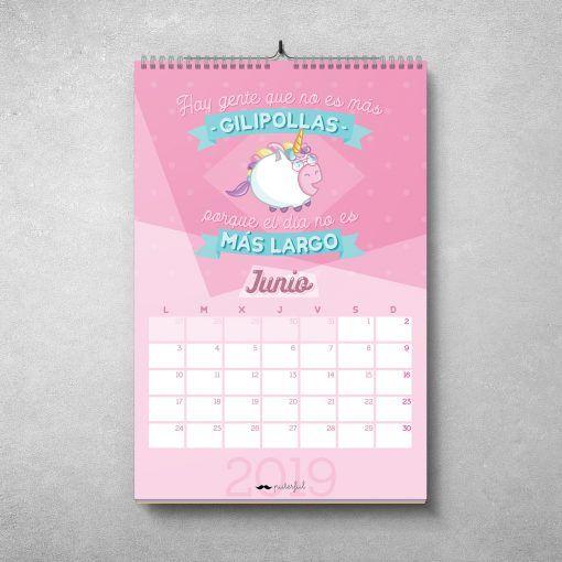 Calendario Puterful Junio