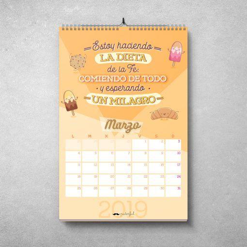 Calendario Puterful Marzo