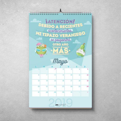 Calendario Puterful Mayo