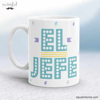 Taza jefe puterful