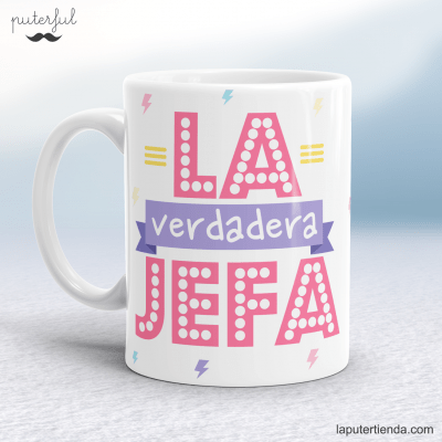 Taza jefa puterful