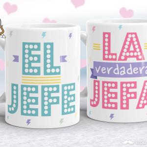Pack de tazas Jefe & Jefa