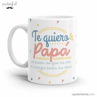 Taza te quiero papá