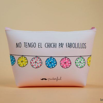 Neceser farolillos rosa puterful