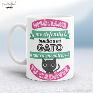 Taza – Insulta a mi gato