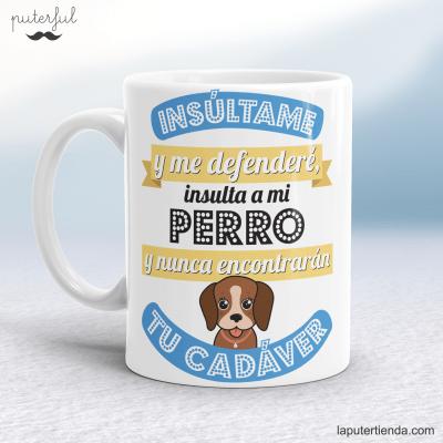 Taza perro Puterful