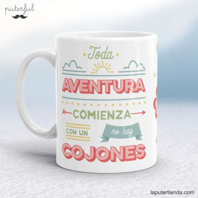 Taza aventura Puterful