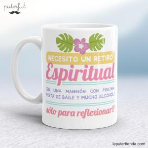 Taza – Necesito un retiro espiritual…