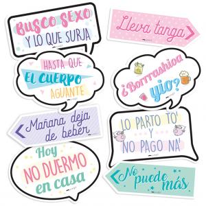 """Kit de Fiesta """"No puede más"""""""