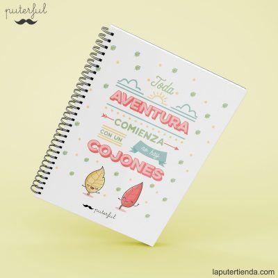 Cuaderno Puterful aventura