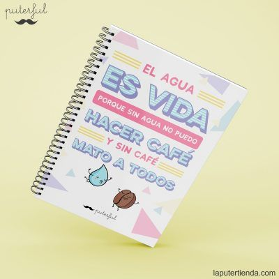 Cuaderno Puterful cafe