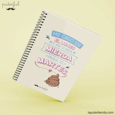 Cuaderno Puterful lunes