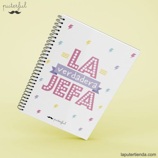 Cuaderno Puterful jefa
