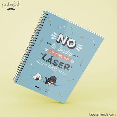 Cuaderno Puterful laser