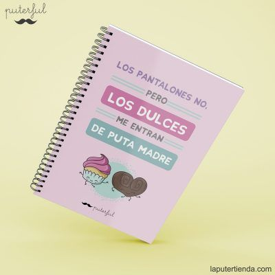 Cuaderno Puterful dulces