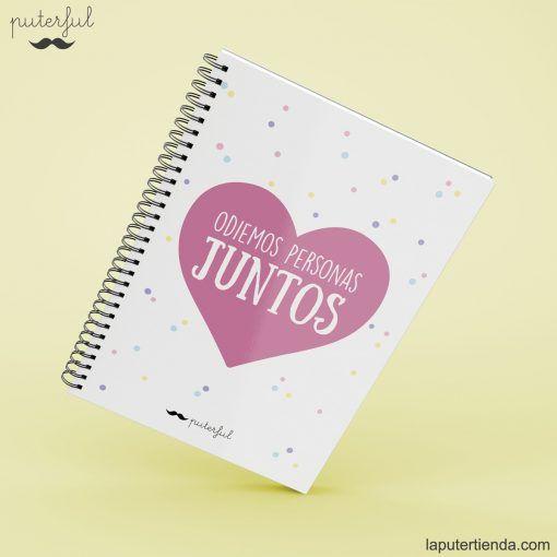 Cuaderno Puterful juntos