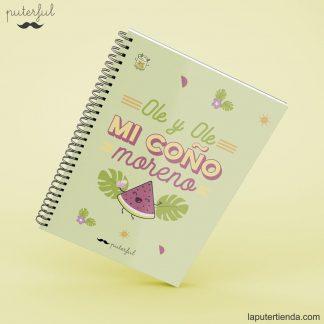 Cuaderno Puterful ole y ole