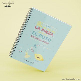 Cuaderno Puterful pinza