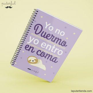 Cuaderno Puterful dormir
