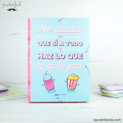 Carpeta Puterful no discutas