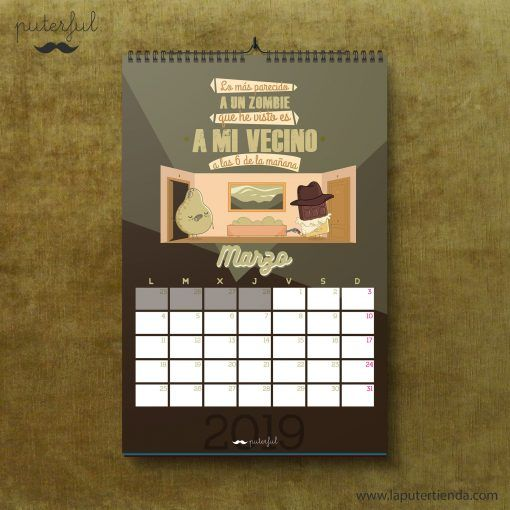 Calendario Puterful Marzo