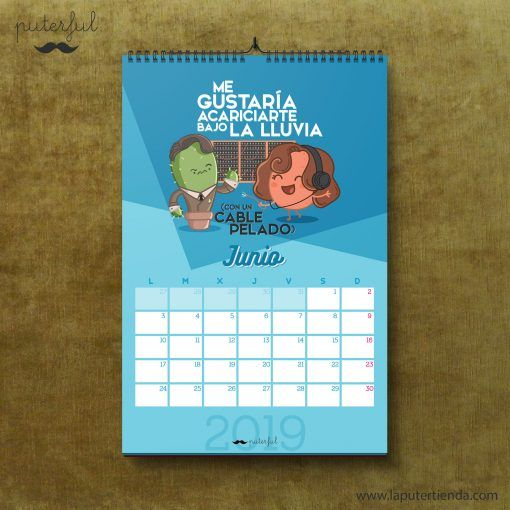 Calendario Puterful Junio