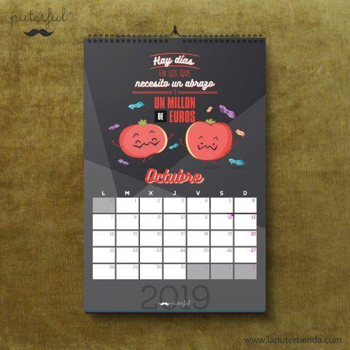Calendario Puterful Octubre