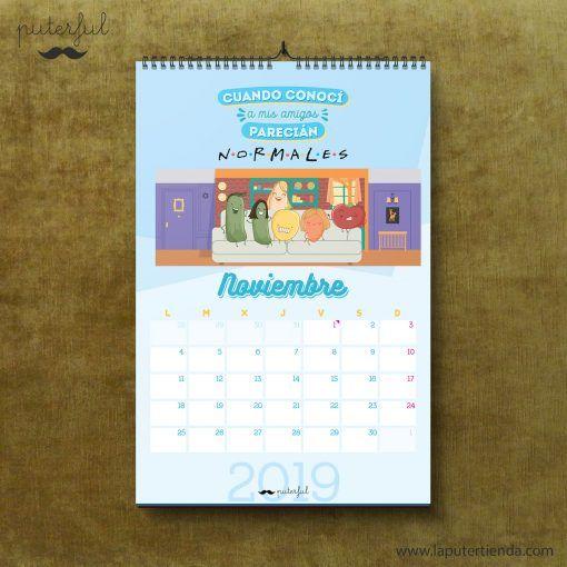 Calendario Puterful Noviembre