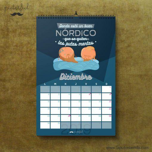 Calendario Puterful Diciembre