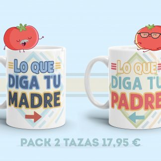 Tazas padre y madre