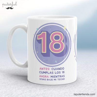 Taza 18 cumpleaños