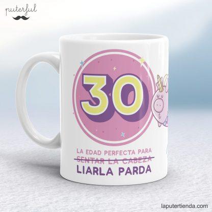 Taza 30 cumpleaños