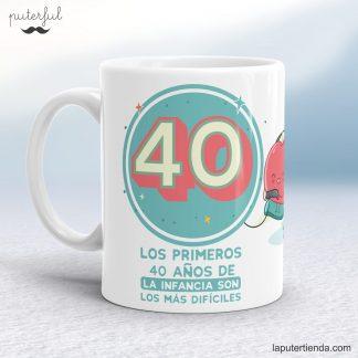 Taza 40 años
