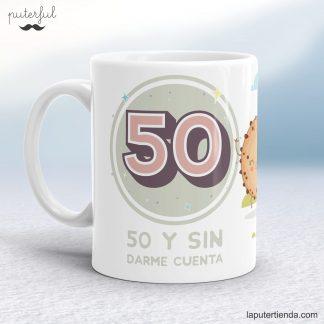 Taza 50 cumpleaños