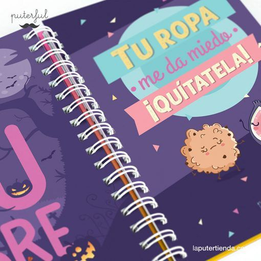 Agenda Escolar Puterful 2019-2020 (Localcoño Power)