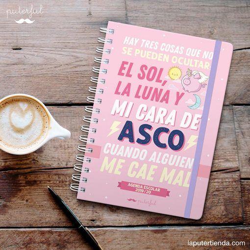 Agenda Escolar clásica Puterful 2019-2020 (Ascazo)