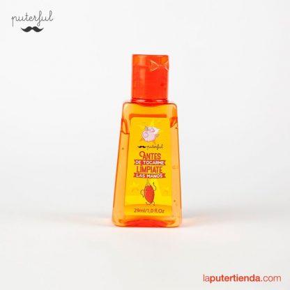Gel limpiador de manos Puterful - No me toques