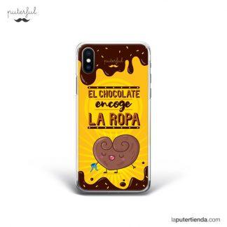 Carcasa de móvil-iPhone-X-CARCASA-DINERO-FELIZ