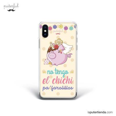 Carcasa de móvil-iPhone-X-CARCASA-FAROLILLOS