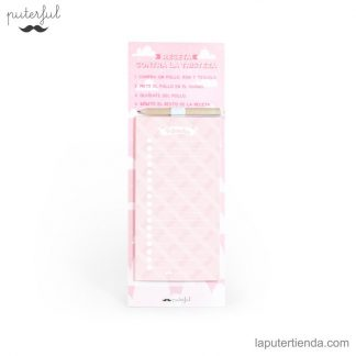 Libreta Puterful rosa