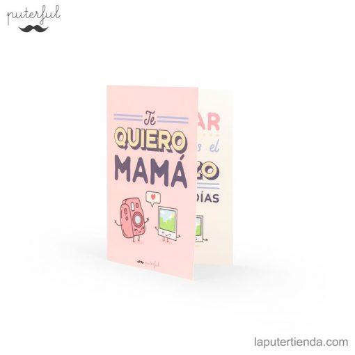 Tarjeta felicitación mamá