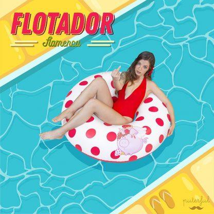 Flotador flamenca Puterful