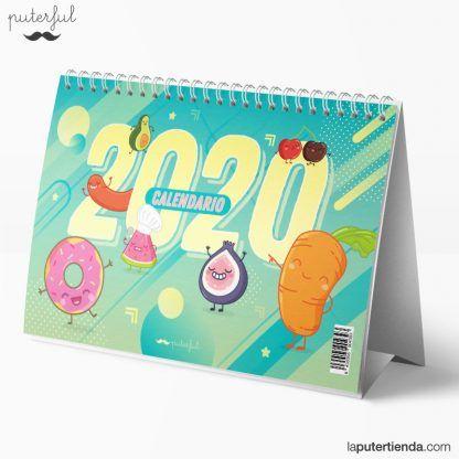 Calendario de sobremesa 2020